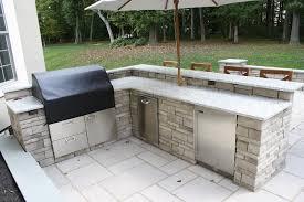 Backyard Grill Bar by Kitchens U0026 Grills Burkholder Landscape