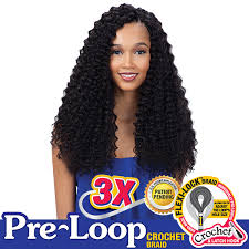 pre braided crochet hair freetress synthetic braid 3x pre loop crochet twist 16 www