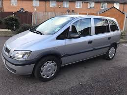 vauxhall zafira 1 8 auto 2005 petrol silver excellent engine