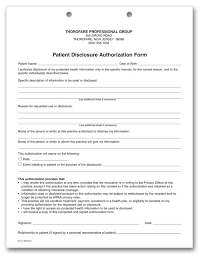 hipaa consent forms 7 hipaa authorization form resume