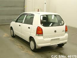 2003 suzuki alto white for sale stock no 46175 japanese used