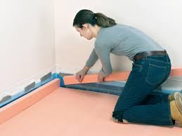 Foam For Laminate Flooring How To Install A Concrete Floor How Tos Diy