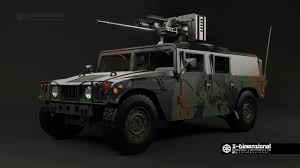 artstation hummer with m242 bushmaster 3 dimensionarte
