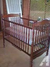 Baby Crib Mattress Sale Cherry Wood Bassett Baby Crib Bed Mattress Odenville Al For
