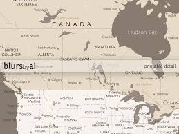Canada Map With Cities by Custom Quote Color And Size World Map With Cities Capitals