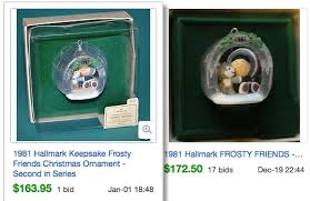 hallmark ornaments value moment
