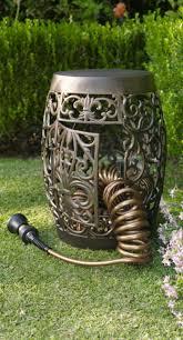 copper garden hose holder swivel hose reel with copper garden