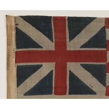 Garrison Flag Size Jeff Bridgman Antique Flags And Painted Furniture 1876 Example