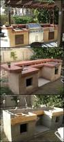 Small Outdoor Kitchen by Cinder Block Outdoor Kitchen Trends With Best Ideas About House