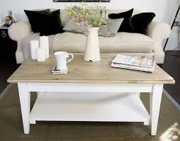 White Distressed Wood Coffee Table Coffee Table Top 10 Square Large Wood And White Coffee Table