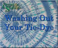 What Colors Do You Wash Together - washing out your tie dye instructions your creation station