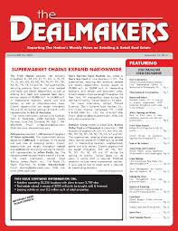 dealmakers magazine september 12 2014 by the dealmakers