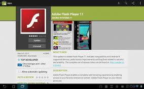 android adobe flash player adobe flash player 11 update lands in android market with improved