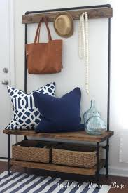 Entry Storage Bench Plans Free by Entryway Bench Storage Ideas How To Build An Entry Bench With