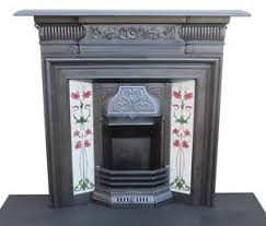 Victorian Cast Iron Bedroom Fireplace Cast Iron Fireplaces Ebay