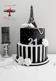 paris themed 21st birthday cake 21st birthday pinterest