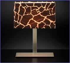 Zebra Print Table Lamp Animal Print Lamp Shades Table Lamps Home Design Ideas
