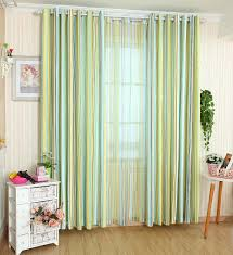 Gingham Curtains Blue Blackout Cloth Picture More Detailed Picture About Simple And