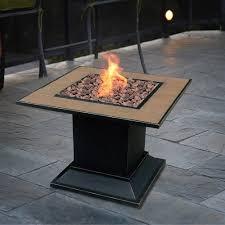 Gas Firepit Bond 1 Lb Propane Gas Firepit Table Walmart