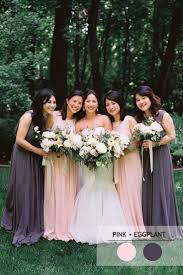 What Color Goes With Light Pink by Mix And Match Bridesmaid Dresses By Colours