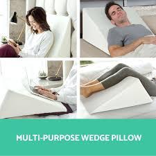 foam wedge pillow bed bath and beyond medical foam foam wedge bed