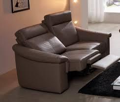 canap relax 2 places tissu gentflex relax canapé 2 places relax et appuis têtes électriques