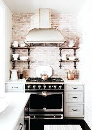 brick kitchen ideas exposed brick kitchen bloomingcactus me