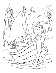 boat coloring pages 102 dalmatians coloring pages free printable