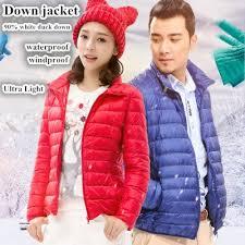 qoo10 ultra light down foldable down jacket winter jacket