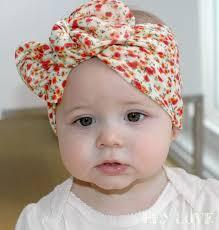 baby headwrap baby turbans baby turban tie knot wrap headband knotted