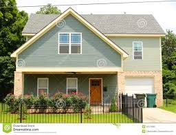 urban petite single family home stock photo image 42374985