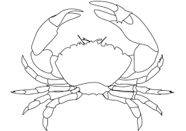 Crab Coloring Page Free Printable Coloring Pages Crab Coloring Page