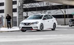 nissan sentra vs honda civic 2017 nissan sentra nismo test review car and driver