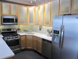 Sandblasting Kitchen Cabinet Doors Kitchen Elegant Frosted Glass Doors For Cabinets Cabinet Remodel