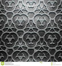metal plate with carved pattern stock illustration image 35272196