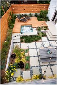 backyards modern landscaping for sloped front yard with steps