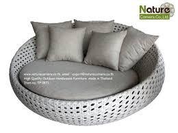 big round chairs wicker rattan ottoman furniture wicker rattan