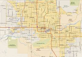 Phoenix Map by Phoenix Move Com Phoenix Real Estate U0026 Relocation Services