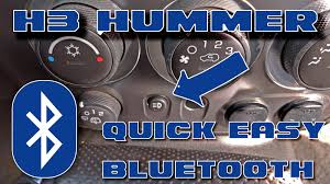 hummer h3 h3 hummer quick u0026 easy bluetooth u2013 schwarttzy