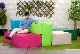 Weatherproof Patio Furniture Sets - waterproof garden foam sofa seating blocks outdoor furniture set