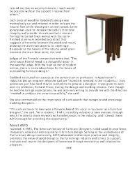 Furniture Design Programs In The News U2014 American Society Of Furniture Designers
