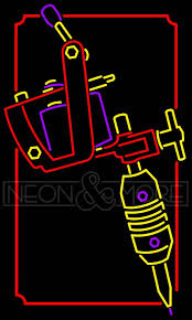 neon tattoo sign tattoo u0026 piercings neon signs neon and more