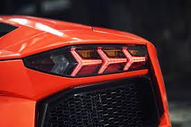 lamborghini aventador rear lights arancio argos lamborghini aventador lp700 4 taillight by