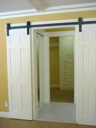 Closet Door Styles Sliding Barn Door Style Closet Doors Home Design And Decor