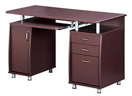 Small Computer Cabinet Computer Desk For Small Space Amazon Com