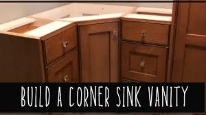 build corner kitchen sink cabinet build a corner cabinet