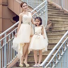 robes m re du mari filles dentelle fleur princesse robe maman et bébé mère fille robe