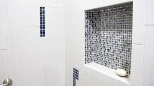 bathroom remodeling dahl homes dal tile niche artistry marvel shower fabrique 12x24 blanc linen