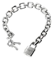 charm bracelet charms white gold images Louis vuitton padlock charm white gold bracelet tradesy jpg