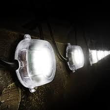 Festoon Lighting Outdoor Defender E89331pk2 Defender Led Festoon Lights 22m 240v Pack Of 2